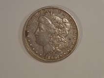 1896 MORGAN SILVER DOLLAR VF in Houston, Texas