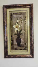 BEAUTIFUL FRAMED PICTURE WITH ORCHIDS in Naperville, Illinois