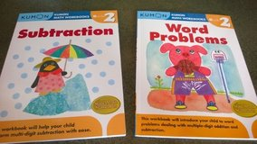 New Kumon Grade 2 Workbooks- Subtraction & Word Problems in Chicago, Illinois