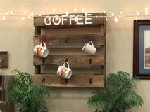 Barnwood Coffee mug rack in Clarksville, Tennessee