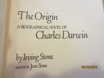 """""""The Origin"""" Biography of Charles Darwin signed book in Bartlett, Illinois"""
