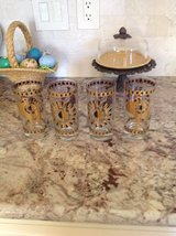Set of 4 mid century Rooster glasses in Kingwood, Texas