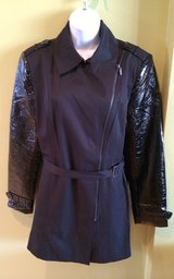 """Trenchcoat by Rampage """"Chrissy"""" style,  so cute! in Oswego, Illinois"""