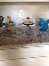 Depression glass compotes/4 in Kingwood, Texas