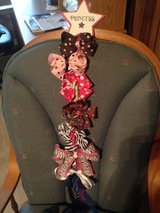 Bow Holder with  lots of bows also ribbons in Fort Polk, Louisiana