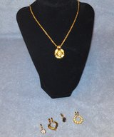 NOLAN MILLER NECKLACE W/6 INTERCHANGEABLE PIECES in Camp Lejeune, North Carolina