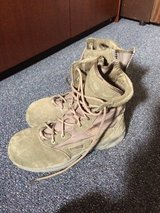 Men's Size 8 Sage Green Converse Zip Side Boots, Worn for one week.  Decided they were too big. ... in Tampa, Florida