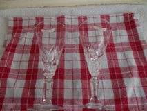 REDUCED Pair of Vintage Genete Cocktail Glasses in Lakenheath, UK