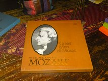 Wolfgang Amadeus Mozart Time Life Great Men of Music 4 Album Box Set w/ Booklet in Camp Lejeune, North Carolina