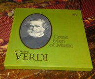 GIUSEPPE VERDI Time Life Great Men of Music 4 Album Box Set w/ Booklet in Camp Lejeune, North Carolina