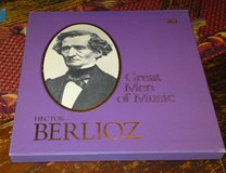 Hector Berlioz Time Life Great Men of Music 4 Album Box Set with Booklet in Camp Lejeune, North Carolina