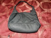 Black cloth coach bag in Yorkville, Illinois