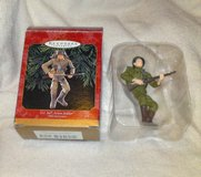 1999 G.I. JOE ACTION SOLDIER Handcrafted Hallmark Keepsake Christmas Ornament in Camp Lejeune, North Carolina
