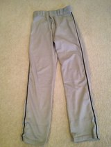 Grey/black Piping (S) Adult Baseball Pants in Lockport, Illinois