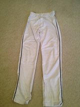 White/black Piping (S) Adult Baseball Pants in Lockport, Illinois