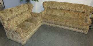 Sleeper Couch with Loveseat in Ramstein, Germany