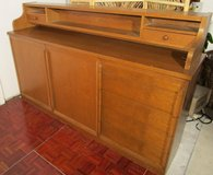 Oak Sideboard  Storage Cabinet with Overrider in Ramstein, Germany