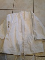 Light weight white size 1 gi top in Naperville, Illinois