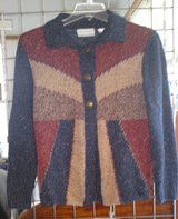 NWOT ALFRED DUNNER BRYCE CANYON GEOMETRIC CARDIGAN SWEATER - PL in Camp Lejeune, North Carolina