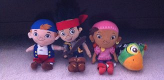 4 Disney Jake and the Never Land Pirates in Fort Campbell, Kentucky