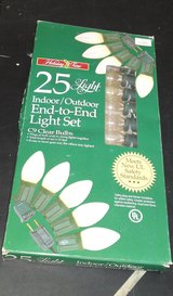 HOLIDAY TIME INDOOR/OUTDOOR END-TO-END LIGHTS C9+++ in Camp Lejeune, North Carolina