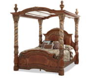 NEW HIGH END KING CANOPY BED in Riverside, California