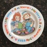 Raggedy Ann & Andy Plate in Naperville, Illinois