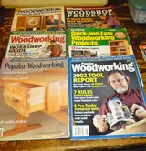 SIX WOODWORKING MAGAZINES in Camp Lejeune, North Carolina