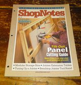 ShopNotes Magazine November 1999 Woodworking Tilt-Out Panel Cutting Guide in Camp Lejeune, North Carolina