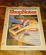 ShopNotes Magazine March 2001 Woodworking Miter Station in Camp Lejeune, North Carolina