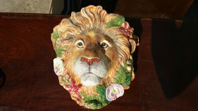 Fitz and Floyd Ceramic Lion Head in Tomball, Texas