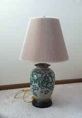 Antique Lamp and Shade in Naperville, Illinois