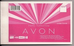 FREE: 8 ~ New Avon order or receipt book in Camp Lejeune, North Carolina