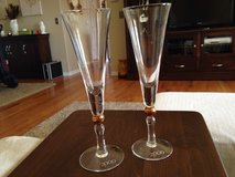Champagne Flutes in Yorkville, Illinois