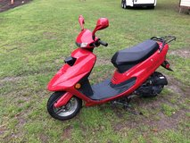 Moped in Beaufort, South Carolina