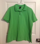 H&M Mens green polo, sz L in Fort Campbell, Kentucky