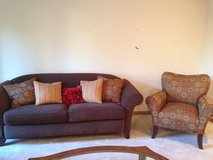 Sofa and chair in St. Charles, Illinois