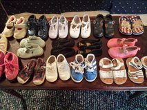 Toddler Girl 6 - 6.5, 6.5W dress shoes, sandals, more! in Lockport, Illinois