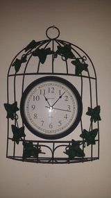 Fancy Ivy Wall Clock in Plainfield, Illinois