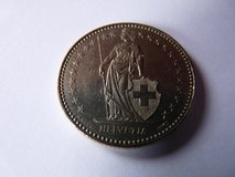 Coin Republique Francaise from 1994 in Spangdahlem, Germany