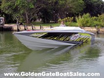 2003, 40' BAJA 40 OUTLAW with Heritage Tri-Axle Trailer Included in MacDill AFB, FL