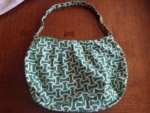 Green & White Cloth Purse in Naperville, Illinois