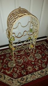 Yellow Iron Fruit Wine Rack in Fort Campbell, Kentucky