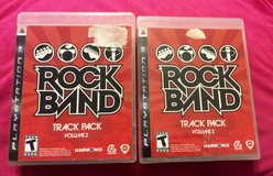 RockBand Track Pack volume 2 for ps3 in Warner Robins, Georgia