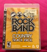 RockBand Country Track Pack for ps3 in Byron, Georgia