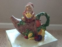 Cherished Teddies - Thanksgiving Teapot in Camp Lejeune, North Carolina
