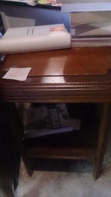 wood end table in Toms River, New Jersey