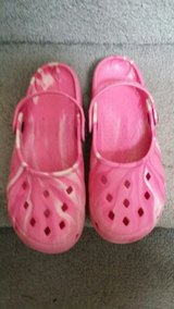 Pink Clogs Shoes in Fort Lewis, Washington