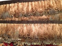 Tan/Teal/Brown Feather Trim-5 yards in Batavia, Illinois