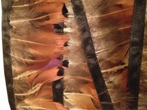 Rust/Brown Feather Trim--4 yds/12 ft in Naperville, Illinois